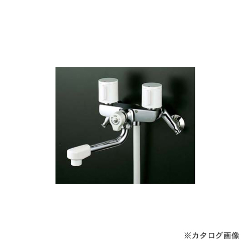 KVK KF100G3W 寒 止水2ハンドルシャワー