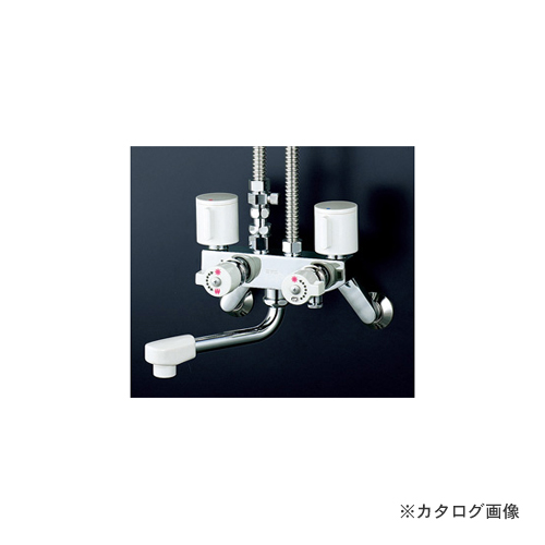 KVK KM51C3 ソーラー2ハンドル混合栓 併用形