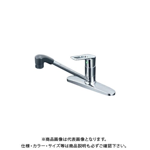 KVK KM5091TFEC 流し台シャワー混合栓 eレバー