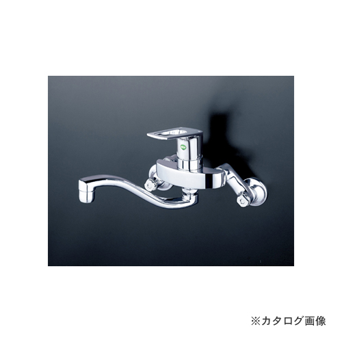 KVK KM5000WTHEC 寒 シングル混合栓 eレバー