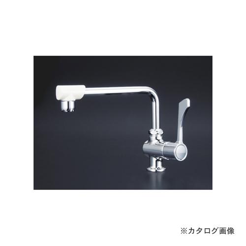 KVK K1802FR3 ワンタッチハンドル付立型自在水栓