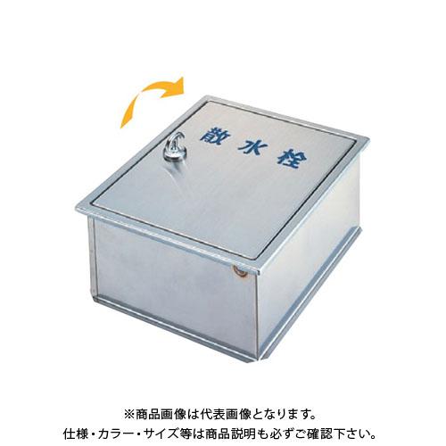 【12/5限定 ストアポイント5倍】アウス ステンレス製散水栓BOX・壁埋設型 SB25-13