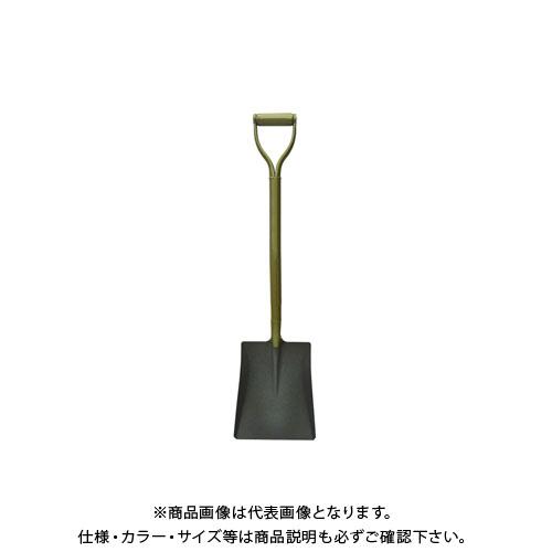 浅香工業 金象 パイプ柄 耐摩耗ショベル 角形 #18355