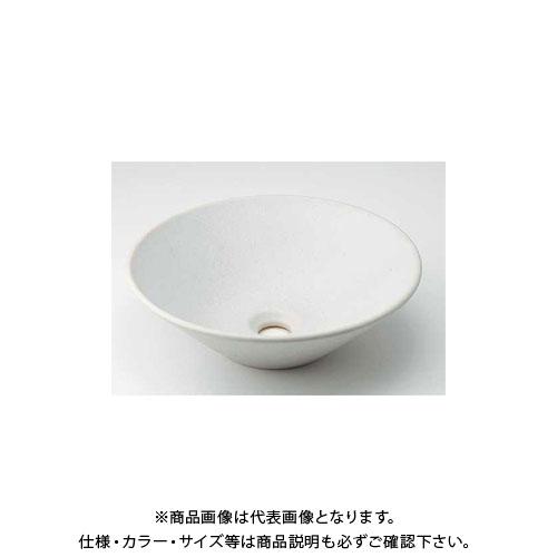 【12/5限定 ストアポイント5倍】カクダイ 丸型手洗器/月白 493-037-W