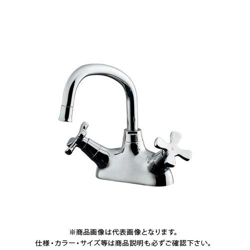【12/5限定 ストアポイント5倍】カクダイ 2ハンドル混合栓 151-203