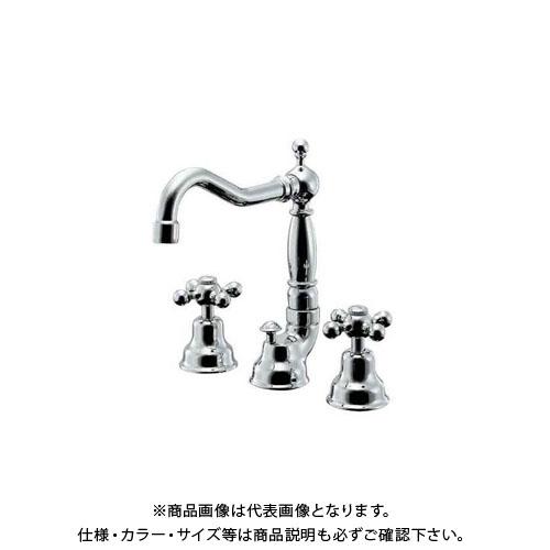 カクダイ 2ハンドル混合栓 153-024