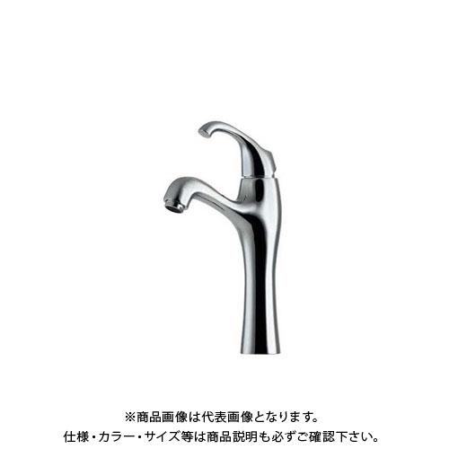 カクダイ シングルレバー混合栓/トール 183-103K