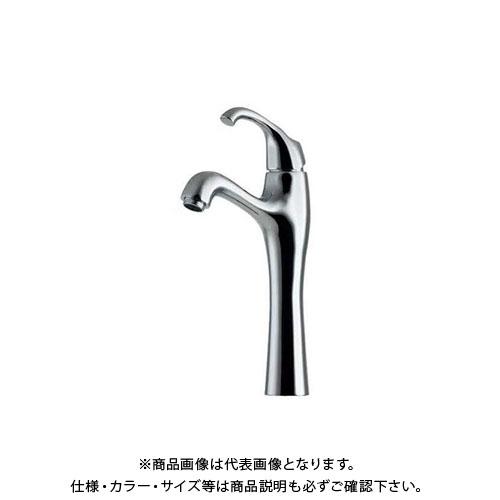 カクダイ シングルレバー混合栓/トール 183-105K