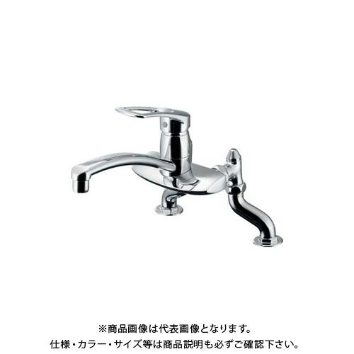 【12/5限定 ストアポイント5倍】カクダイ シングルレバー混合栓 116-005