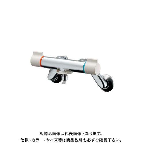 カクダイ 洗濯機用混合栓 ストッパー付 127-110K