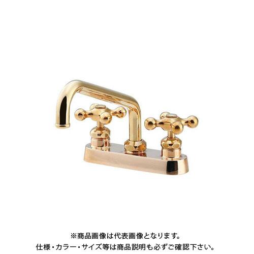 カクダイ 2ハンドル混合栓 151-003
