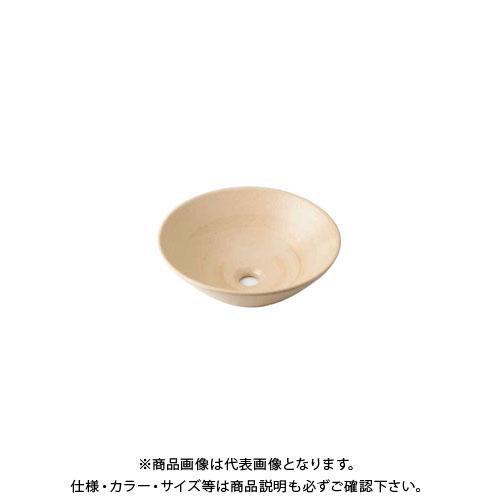 【12/5限定 ストアポイント5倍】カクダイ 丸型手洗器/亜麻 493-046-CR