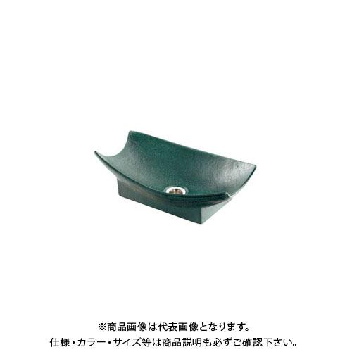 【12/5限定 ストアポイント5倍】カクダイ 舟型手水鉢 濃茶 624-934