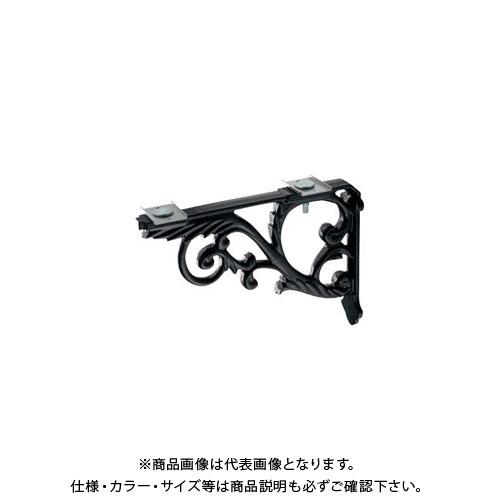 カクダイ ブラケット/鋳鉄、黒色塗装 250-005-D