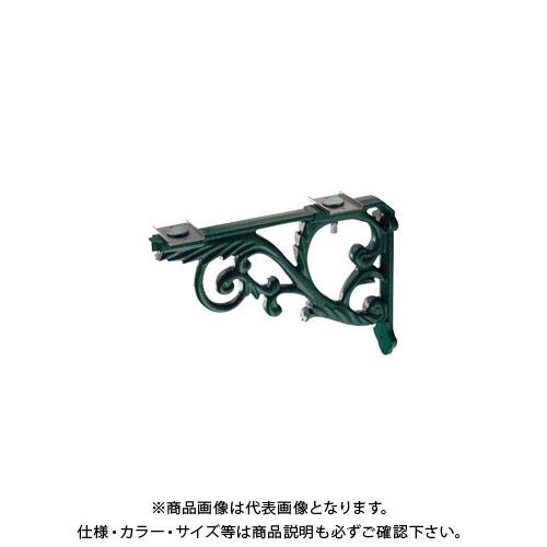 カクダイ ブラケット/鋳鉄、緑色塗装 250-005-G