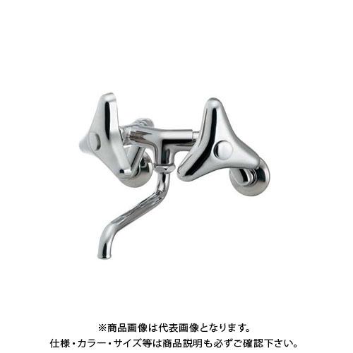 【12/5限定 ストアポイント5倍】カクダイ 2ハンドル混合栓((どっか~ん)) 128-051