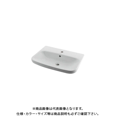 カクダイ 壁掛洗面器/1ホール DU-2319650000