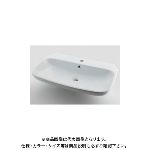 カクダイ 角型洗面器 LY-493207