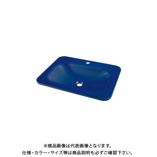 【12/5限定 ストアポイント5倍】カクダイ 角型洗面器ロイヤルブルー MR-493220B
