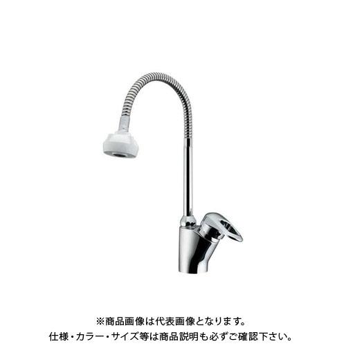 【12/5限定 ストアポイント5倍】カクダイ シングルレバー混合栓シャワー付 183-135