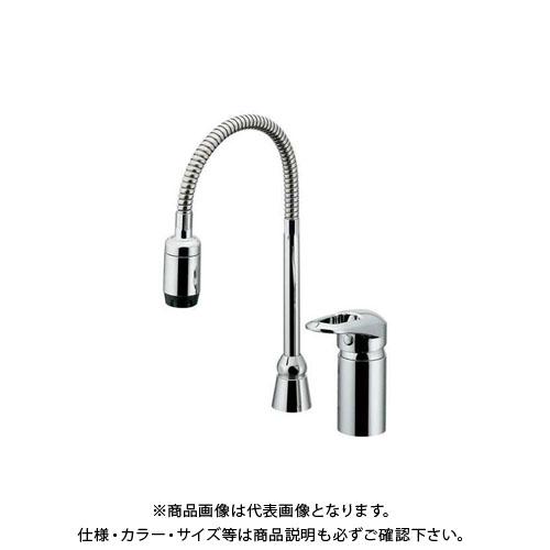 【12/5限定 ストアポイント5倍】カクダイ シングルレバー混合栓シャワー付 185-516K
