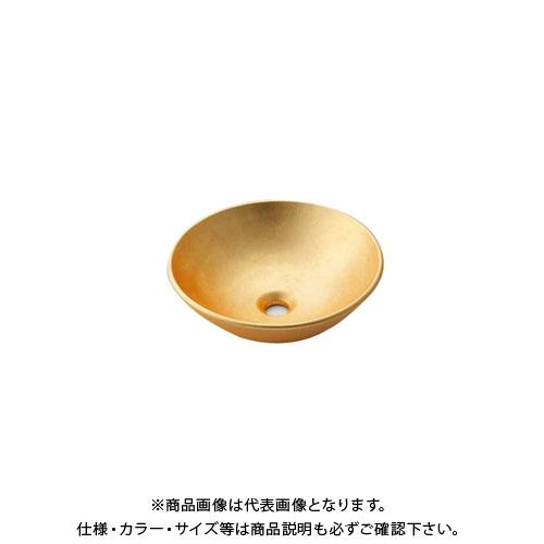 【12/5限定 ストアポイント5倍】カクダイ 丸型手洗器/山吹 493-095-G
