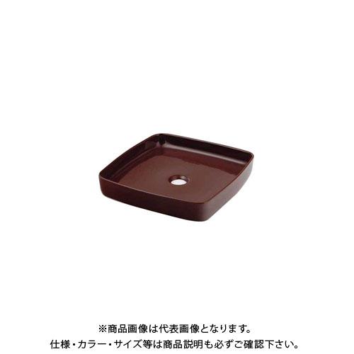 カクダイ 角型手洗器/ショコラ 493-096-BR