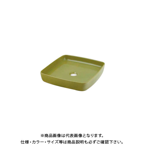 カクダイ 角型手洗器/ピスタチオ 493-096-GR