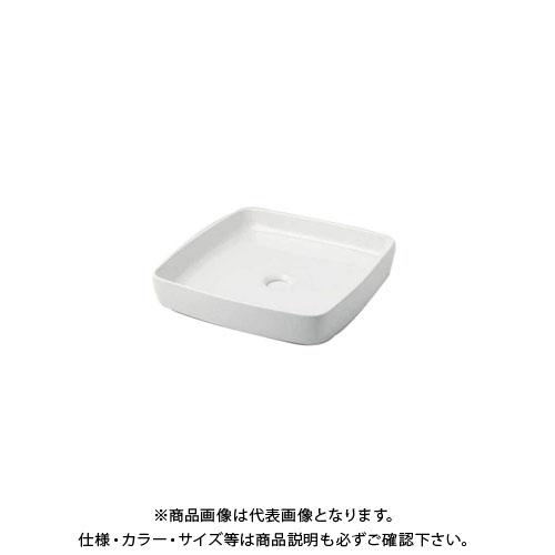 カクダイ 角型手洗器/シュガー 493-096-W