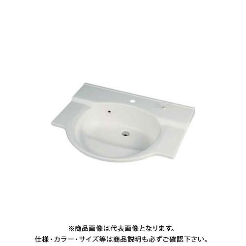 お買い得モデル 497-024:KanamonoYaSan カクダイ  ボウル一体型カウンター/1ホール KYS-木材・建築資材・設備