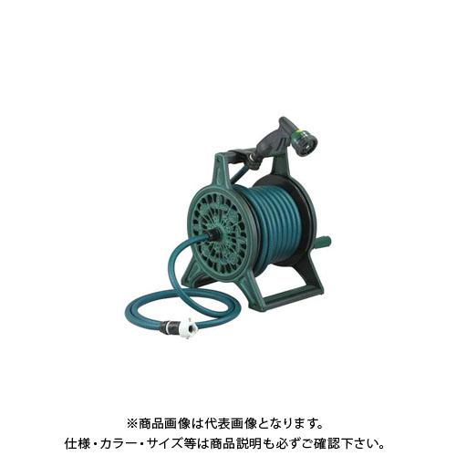 カクダイ レトロホースリール/グリーン 553-801
