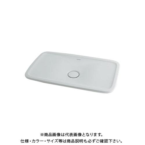 【12/5限定 ストアポイント5倍】カクダイ 角型洗面器 DU-0370700000