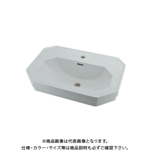 カクダイ 壁掛洗面器 1ホール DU-0438700000