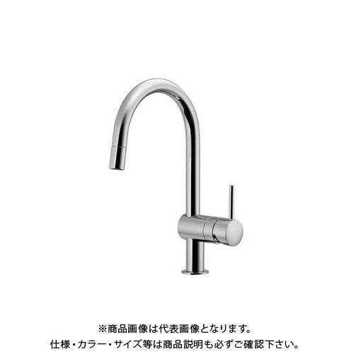 カクダイ シングルレバー引出混合栓 GR-31095000