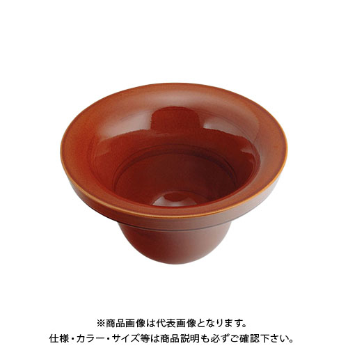 【12/5限定 ストアポイント5倍】カクダイ 丸型手洗器 飴 493-099-BR