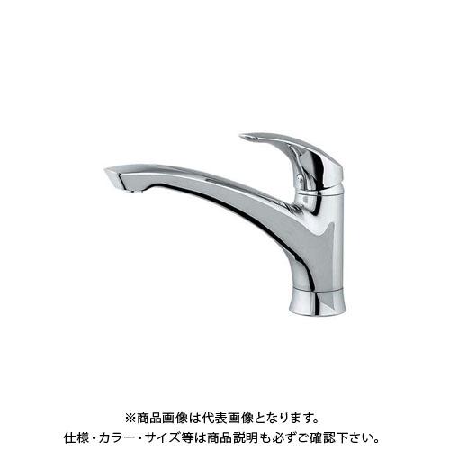 【12/5限定 ストアポイント5倍】カクダイ シングルレバー混合栓 117-004K