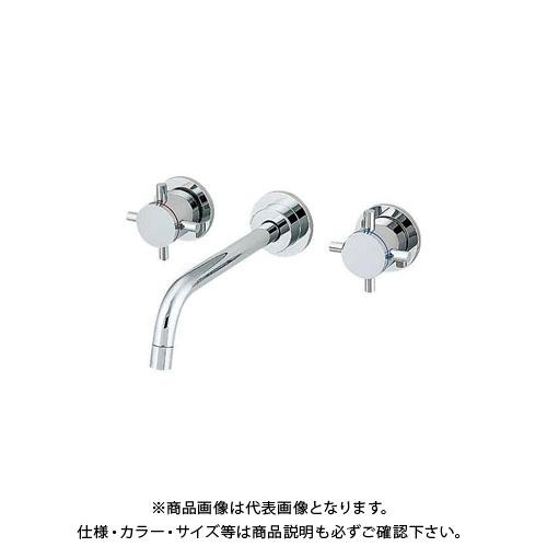 【12/5限定 ストアポイント5倍】カクダイ 壁付2ハンドル混合栓 125-001