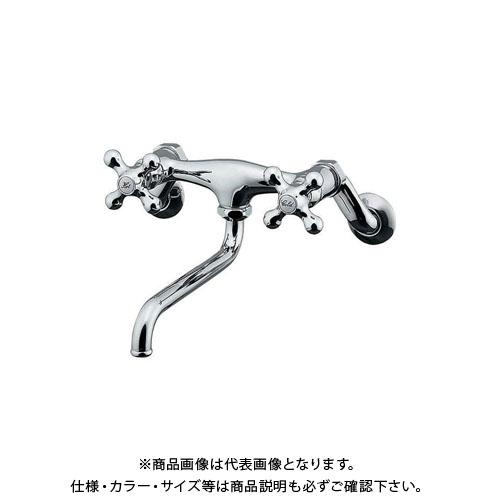 カクダイ 2ハンドル混合栓 128-105