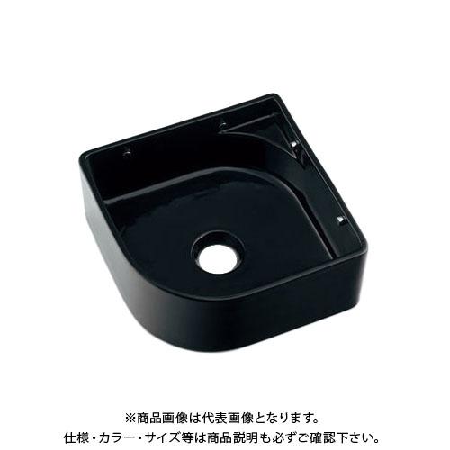 【12/5限定 ストアポイント5倍】カクダイ 壁掛手洗器/ブラック 493-048-D