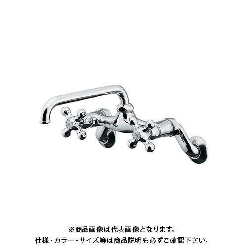 【12/5限定 ストアポイント5倍】カクダイ 2ハンドル混合栓 124-105
