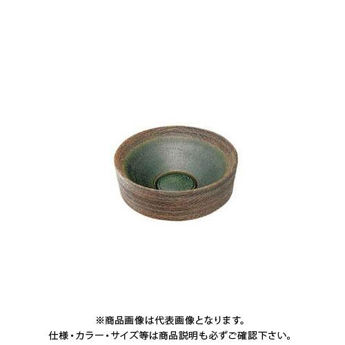 【12/5限定 ストアポイント5倍】カクダイ 丸型手洗器/織部 493-024-FG
