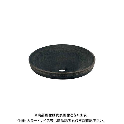【12/5限定 ストアポイント5倍】カクダイ 丸型洗面器/古窯 493-014-DG