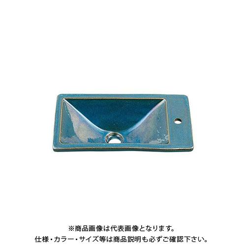 【12/5限定 ストアポイント5倍】カクダイ 角型手洗器/孔雀 493-010-CB