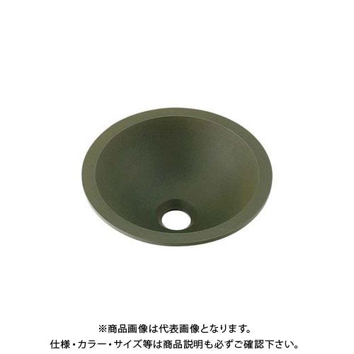 カクダイ 丸型手洗器/松葉 493-013-YG