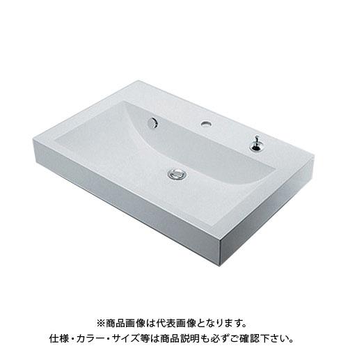 カクダイ 角型洗面器 493-070-750H