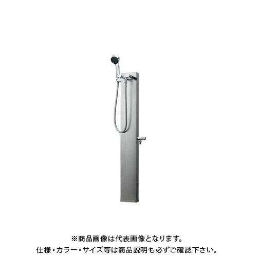 【12/5限定 ストアポイント5倍】カクダイ ステンレスシャワ混合栓柱 624-104