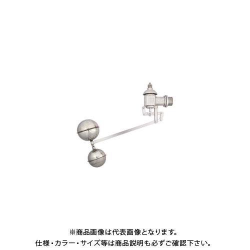 カクダイ 複式ステンレスボールタップ 6608-40