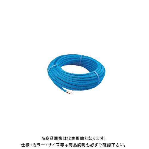 【12/5限定 ストアポイント5倍】カクダイ 保温材つき架橋ポリエチレン管(青) 50m 672-110-50B