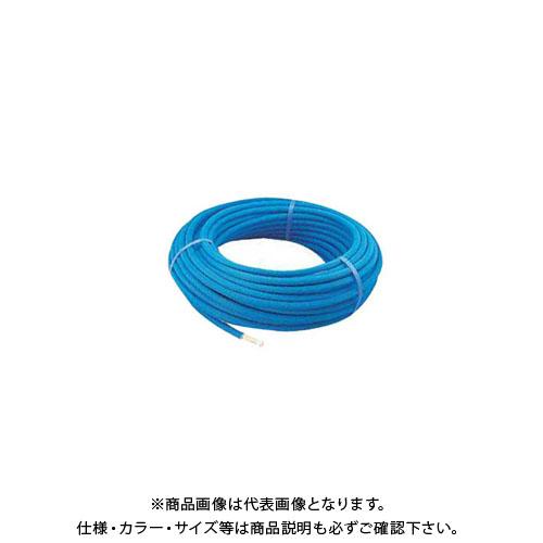 カクダイ 保温材つき架橋ポリエチレン管(赤) 50m 672-113-50R