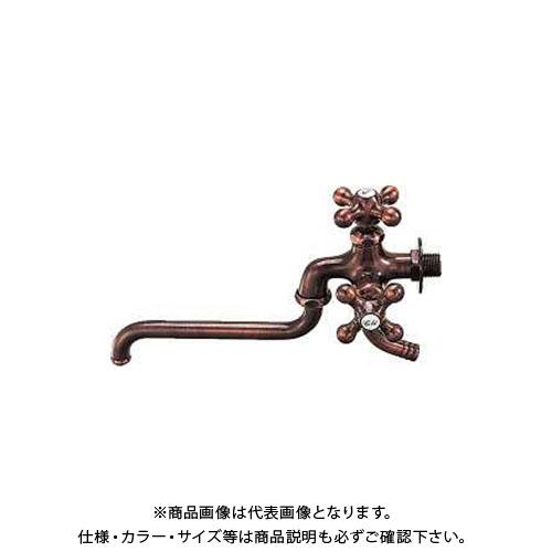 【12/5限定 ストアポイント5倍】カクダイ カラー双口自在水栓 7042FBP-13
